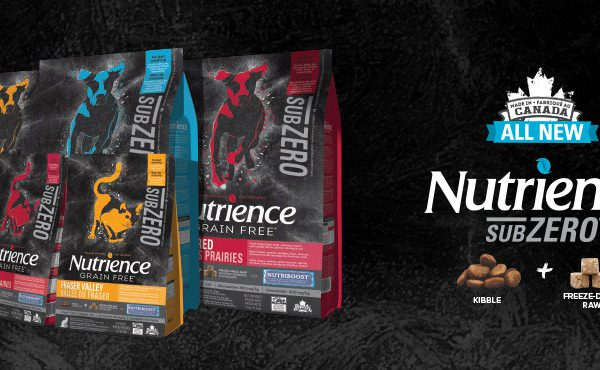 Nutrience Launches Subzero, a New Canadian Grain Free Food for Dogs & Cats with Freeze-Dried Raw Ingredients