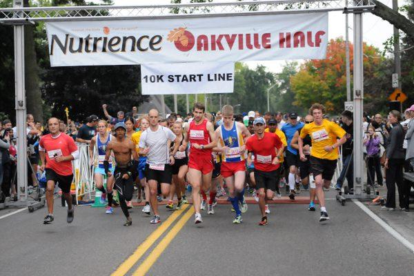 Nutrience Oakville Half Marathon