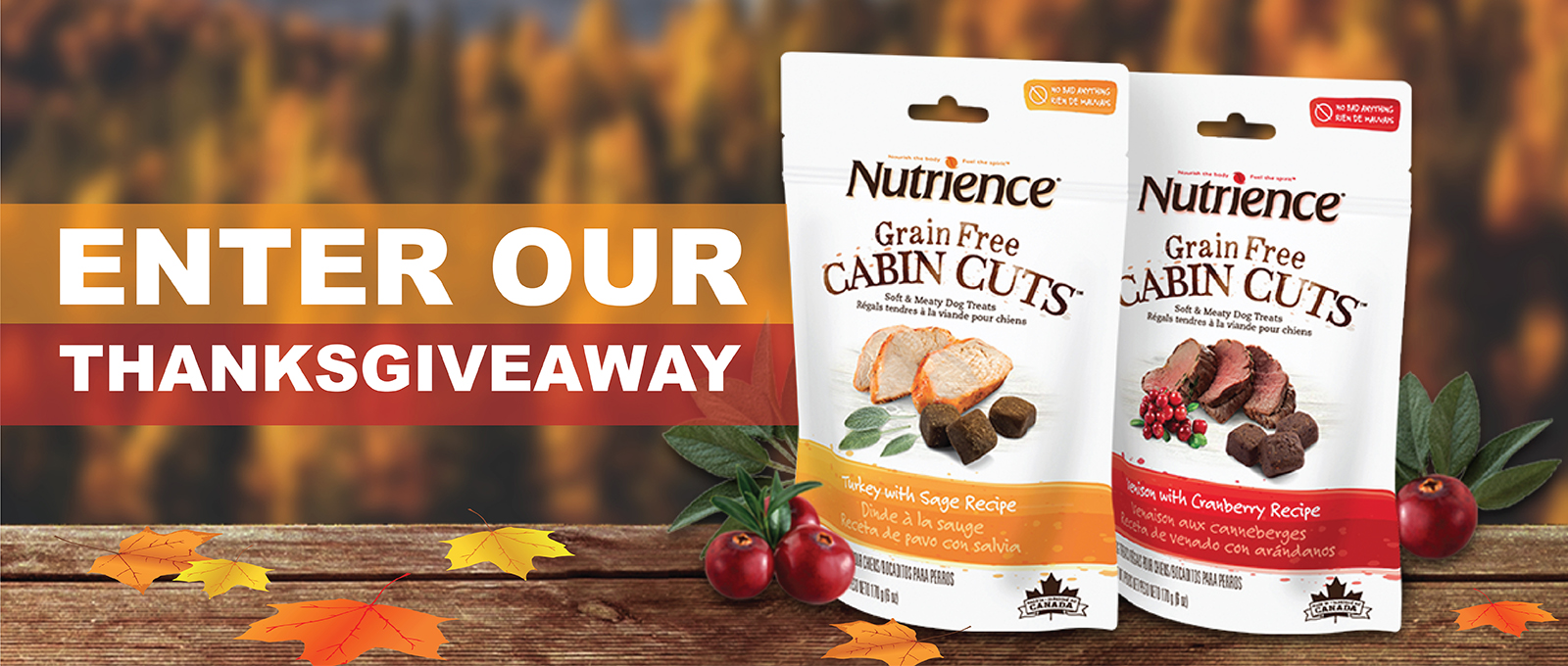 Thanksgiveaway Nutrience