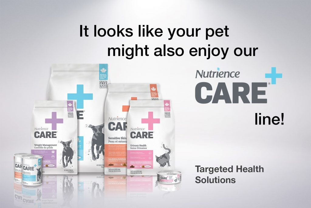 Nutrience Care for dogs and cats