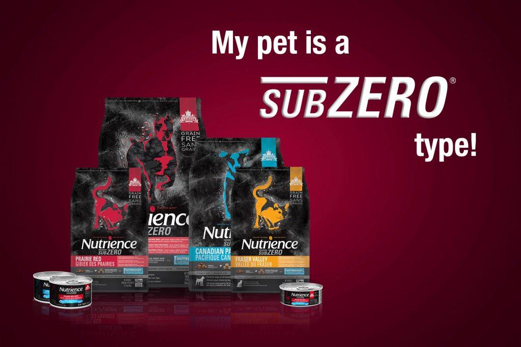 Your pet is a SubZero type